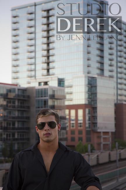 Male Model Derek Hutchins by Jenn LeBlanc photographer